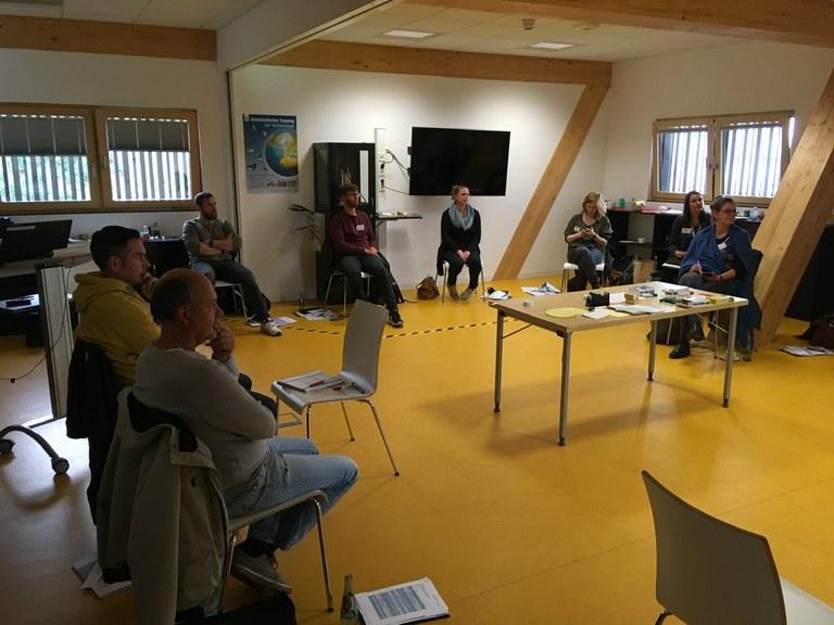 Treffen der MINT-Oberschulen aus Bremen