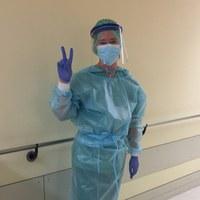 Corona-Einsatz im Krankenhaus
