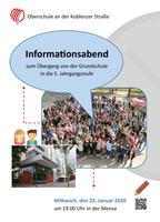 Informationsabend zum Übergang von der Grundschule in die 5. Jahrgangsstufe